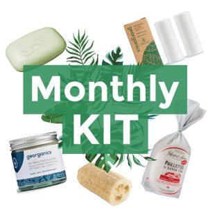 monthly kit zero waste